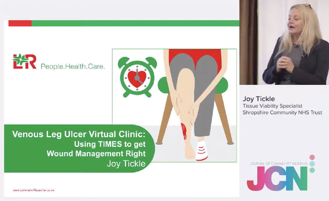 Venous Leg Ulcer Virtual Clinic: Using TIMES to get Wound Management Right