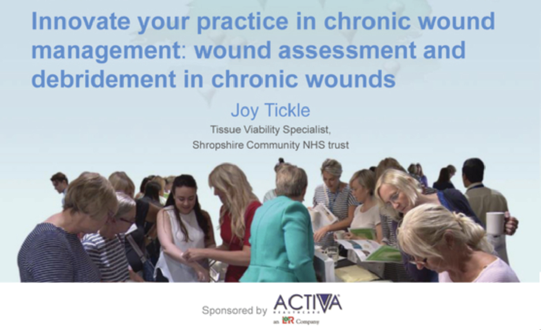 Innovate your practice in chronic wound management