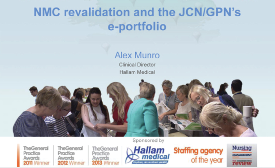 NMC revalidation and the JCN/GPN's e-portfolio