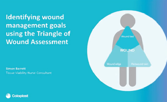 Identifying wound management goals using the Triangle of Wound Assessment