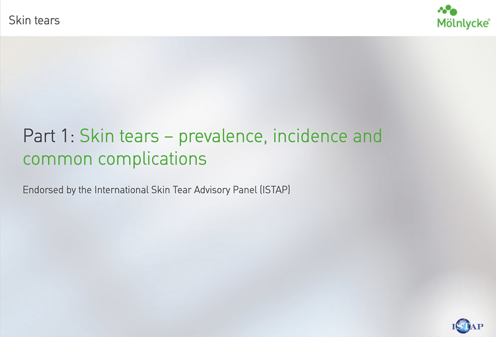 Prevalence, incidence and common complications of skin tears