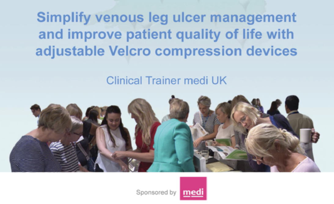 Simplify venous leg ulcer management and improve patient quality of life