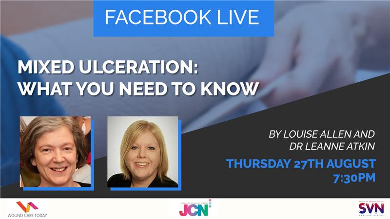Facebook Live: Mixed ulceration: what you need to know