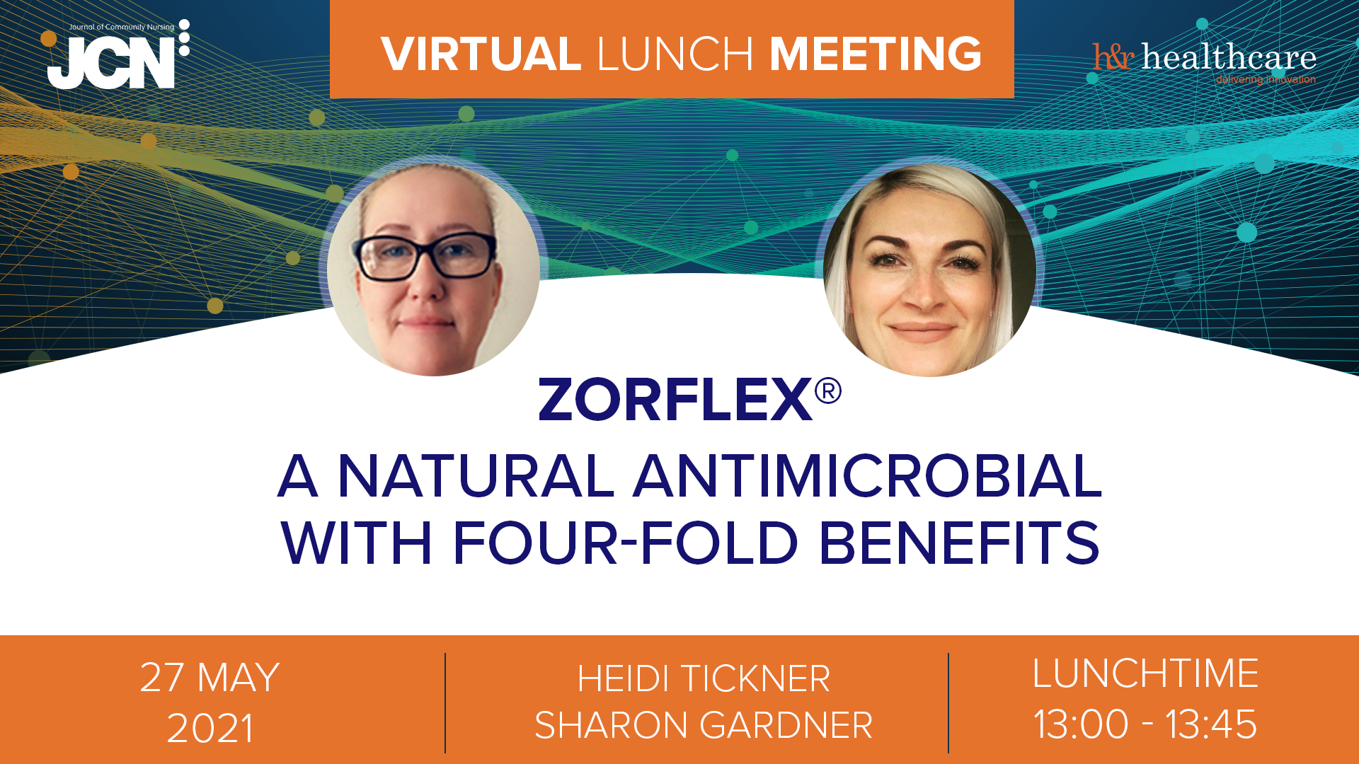 Virtual Lunch Meeting: Zorflex<sup>®</sup> - a natural antimicrobial with four-fold benefits