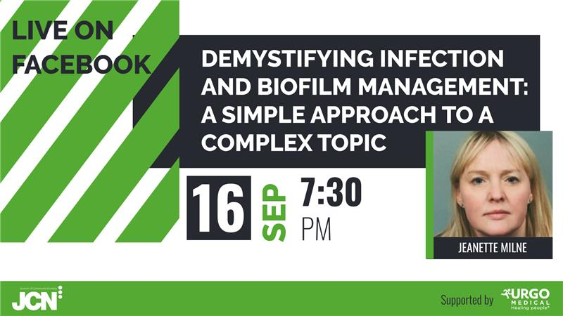 Facebook Live: Demystifying infection and biofilm management - a simple approach