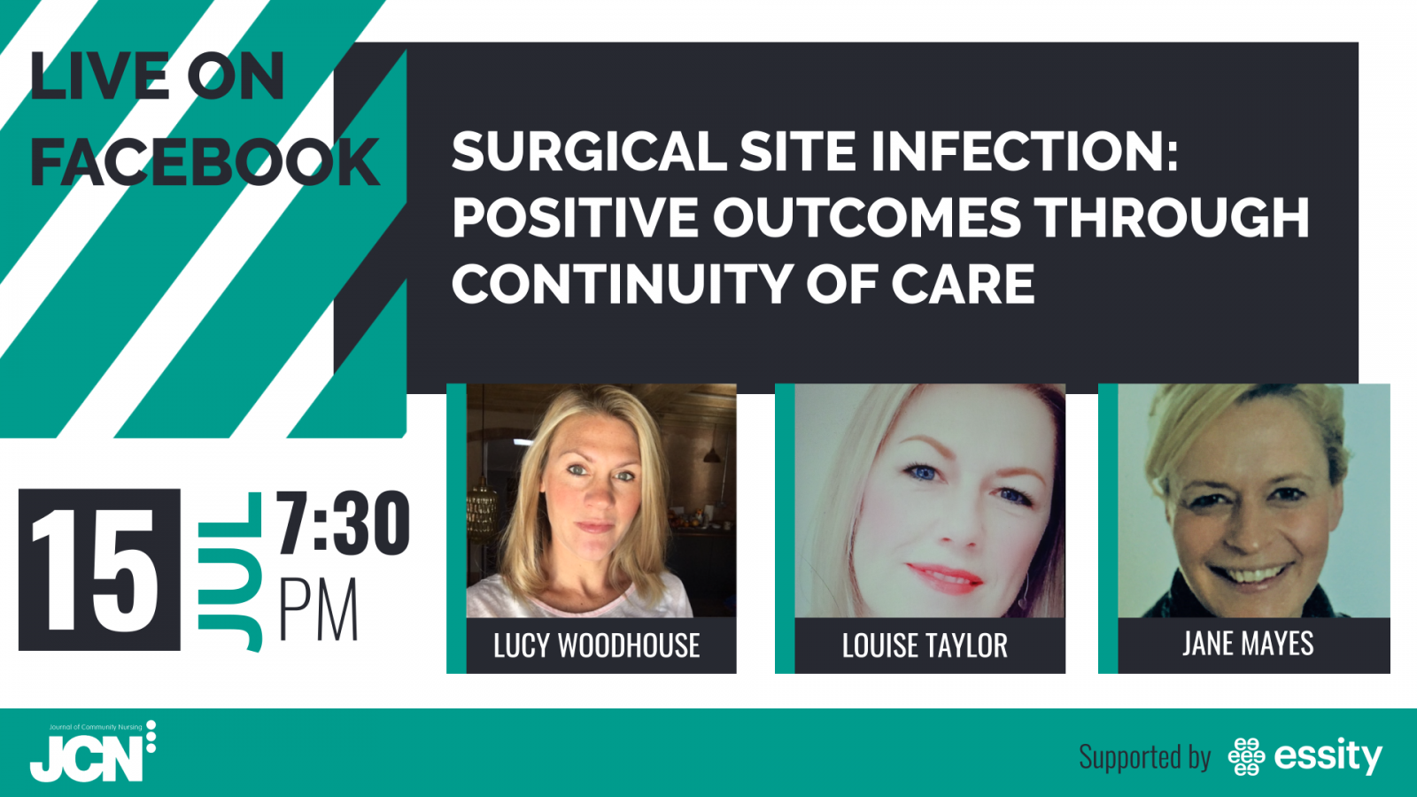 Facebook Live: SSI - positive outcomes through continuity of care