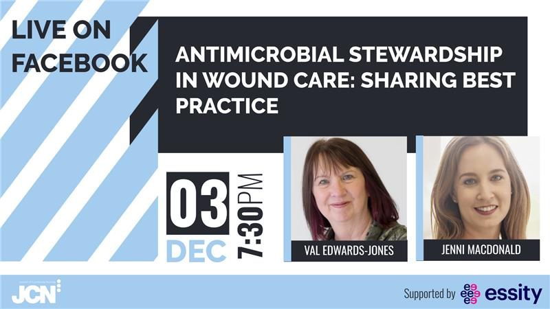 Facebook Live: Antimicrobial stewardship in wound care - sharing best practice