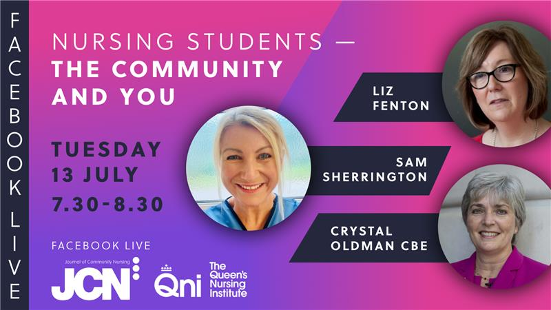 Facebook Live: Nursing students - the Community and You