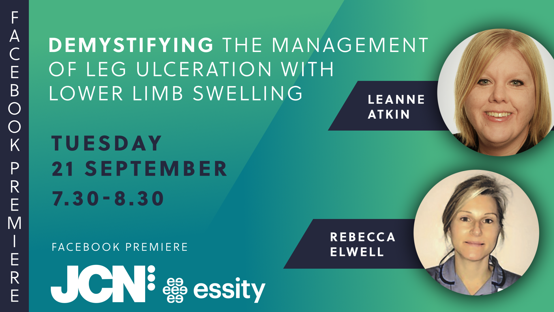 Facebook Live: Demystifying the management of leg ulceration with lower limb swelling