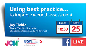 Facebook Live: Using best practice to improve wound assessment