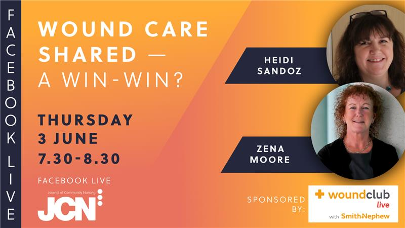 Facebook Live: Wound care shared - a win-win?