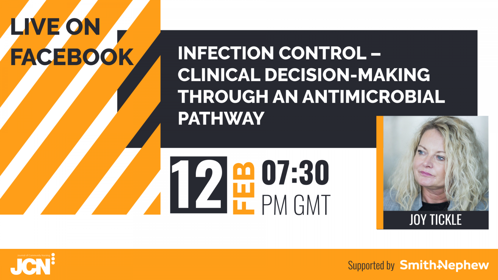 Facebook Live: Infection control clinical decision making through an antimicrobial pathway