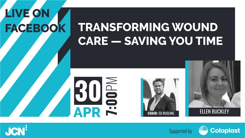 Facebook Live: Transforming wound care - saving you time